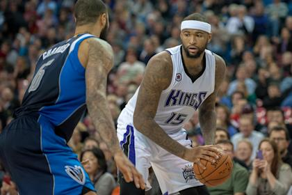 Kings center DeMarcus Cousins (15) earned his first All-Star honor. (USAT)