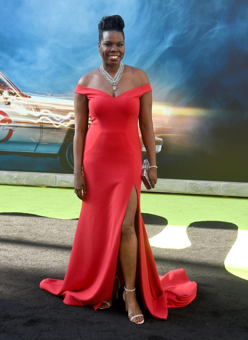 """<p>Jones lamented the lack of designers willing to dress her for the Hollywood premiere of her film <em>Ghostbusters </em>on Twitter. </p><p>""""It's so funny how there are no designers wanting to help me with a premiere dress for the movie. Hmmm that will change and I remember everything<span class=""""redactor-invisible-space"""">,"""" the actress and comedian <span>tweeted</span>. </span></p><p><span class=""""redactor-invisible-space"""">Christian Siriano immediately stepped forward to dress the star (in the stunning red dress pictured), and later responded on <a href=""""https://twitter.com/CSiriano/status/748154852304371714"""" rel=""""nofollow noopener"""" target=""""_blank"""" data-ylk=""""slk:Twitter"""" class=""""link rapid-noclick-resp"""">Twitter</a>: """"It shouldn't be exceptional to work with brilliant people just because they're not sample size. </span></p><p><span class=""""redactor-invisible-space"""">""""Congrats aren't in order, a change is.<span class=""""redactor-invisible-space"""">""""</span><br></span></p>"""