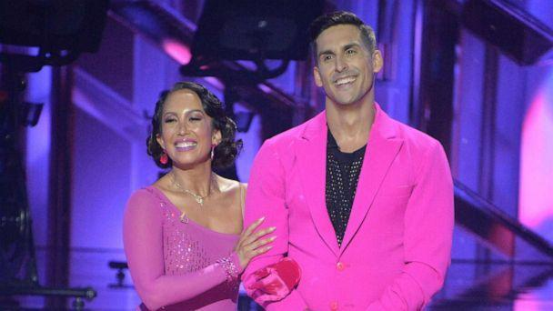 PHOTO: 'Dancing with the Stars' stars Cheryl Burke and Cody Rigsby on Sept. 20, 2021. (Eric Mccandless/ABC)
