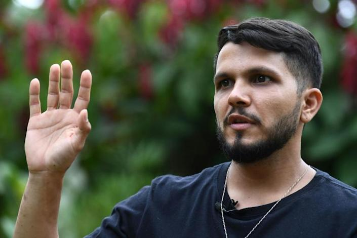 Antonio Sena says the coronavirus pandemic left him with little choice but to take a job working for one of the thousands of illegal gold mines scarring the Amazon rainforest and polluting its rivers with mercury