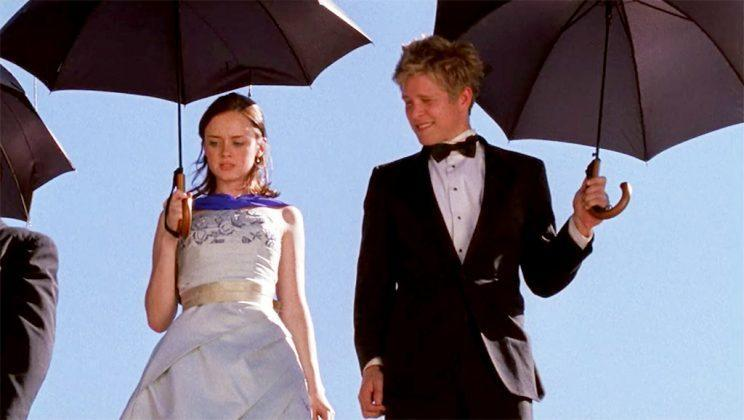 Alexis Bledel and Matt Czuchry (Credit: The WB)