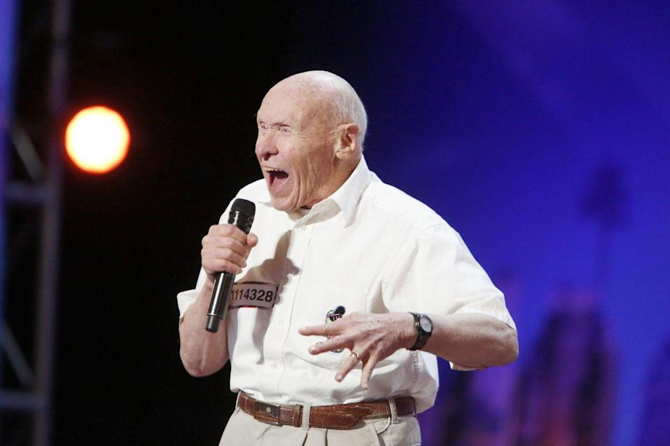 <p>Hey, there's no age restriction on talent! One of the most senior contestants to ever compete on the show was 82-year-old John Hetlinger, who was a singer.</p>