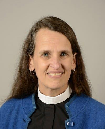The Rev. Dr. Ruth Meyers, the dean of academic affairs at Church Divinity School of the Pacific, worked on a committee with fellow Episcopal Church leaders to add gender-neutral language to worship texts.