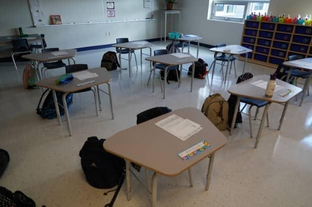 Schools in Ontario will remain open during the provincewide shutdown expected to be imposed starting Saturday, Education Minister Stephen Lecce tweeted.  (Francis Ferland/CBC - image credit)