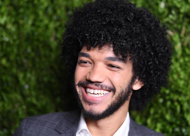 US actor Justice Smith, September 2016