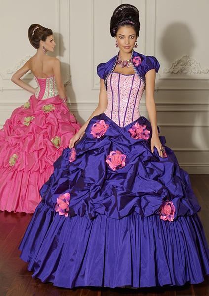 """<div class=""""caption-credit"""">Photo by: Magic Moments Prom</div><a href=""""http://www.magicmomentsprom.com/item/Mori_Lee_Vizcaya_88012_Ball_Gown_Dress/56994#.UXbDPoIyGnc"""" rel=""""nofollow noopener"""" target=""""_blank"""" data-ylk=""""slk:Mori Lee 88012 Ball Gown Dress, $584"""" class=""""link rapid-noclick-resp""""><b>Mori Lee 88012 Ball Gown Dress, $584</b></a> <br> For those who haven't given up the dream of becoming a real-life Disney Princess. <br> <br>"""
