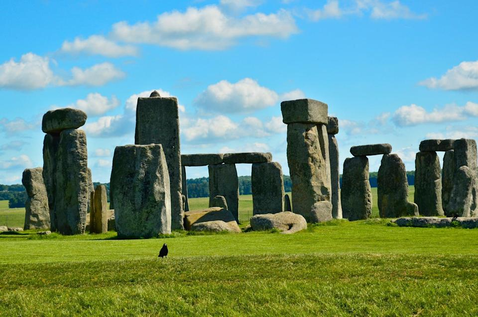 <p>This famous stone monument is in Salisbury, England, and is believed to have been built as long as 4,000 to 5,000 years ago. </p>