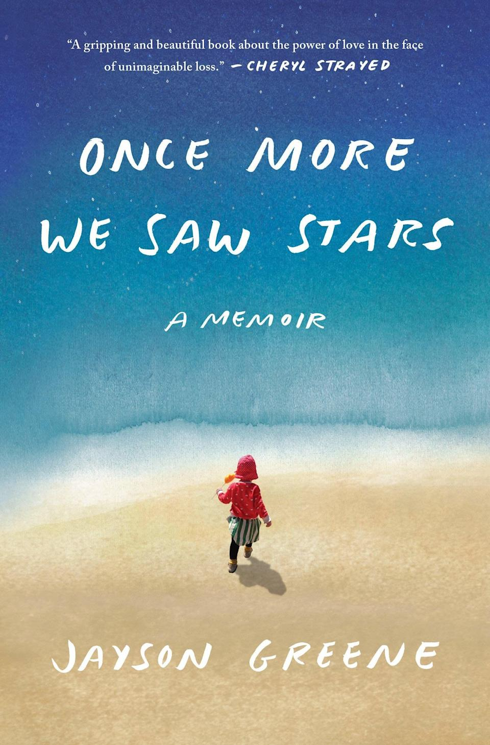 """Disclaimer: This memoir isn't for the faint of heart. In <em>Once More We Saw Stars,</em> Jayson Greene lays bare his story of losing his daughter, Greta. One afternoon Greta, then two, is sitting on a park bench with her grandmother, enjoying her visit and some time outdoors, when out of nowhere, a brick crumbles from a windowsill above and strikes her unconscious. Greta is rushed to the hospital and dies there. This book is an unflinching portrait of what it's like for a couple to live through the worst kind of trauma—and survive. It belongs in the pantheon with other masterpieces on grief, like Joan Didion's <em><a href=""""https://www.amazon.com/Year-Magical-Thinking-Joan-Didion/dp/1400078431/ref=sr_1_1?crid=9OSUUH9F326S&keywords=the%20year%20of%20magical%20thinking&qid=1557766585&s=gateway&sprefix=the%20year%20of%20ma,aps,126&sr=8-1"""" rel=""""nofollow noopener"""" target=""""_blank"""" data-ylk=""""slk:The Year of Magical Thinking"""" class=""""link rapid-noclick-resp"""">The Year of Magical Thinking</a>.</em>"""