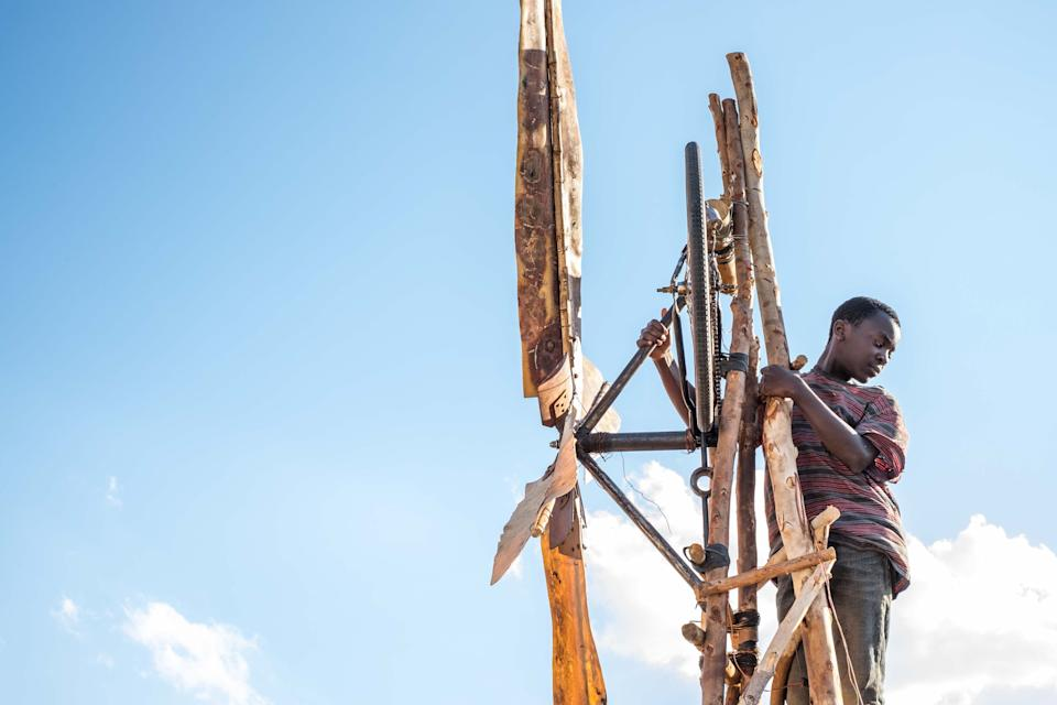 "<h3><strong><em>The Boy Who Harnessed the Wind</em></strong><br>March 1</h3><br><br><em>The Boy Who Harnessed the Wind </em>tells the remarkable true story of a 13-year-old boy (played by Maxwell Simba) from Malawi who saves his village from famine. Chiwetel Ejiofor <a href=""https://variety.com/2018/tv/news/netflix-chiwetel-ejiofor-the-boy-who-harnessed-the-wind-1203027671/"" rel=""nofollow noopener"" target=""_blank"" data-ylk=""slk:wrote the screenplay"" class=""link rapid-noclick-resp"">wrote the screenplay</a> and also stars as the boy's father. Ejiofor also starred in last year's Netflix movie<em> Come Sunday</em>.<span class=""copyright"">James Gourley/BAFTA/REX/Shutterstock</span>"