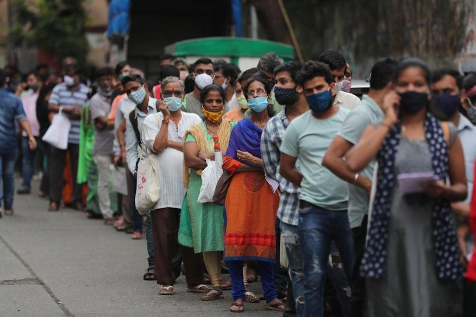 India, which is insurance and financial service company CPP's biggest market, was hit especially hard by the Delta variant in the spring (Rafiq Maqbool/AP) (AP)