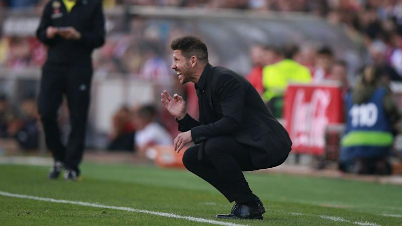 Simeone: Atleti mired in 'most difficult' season