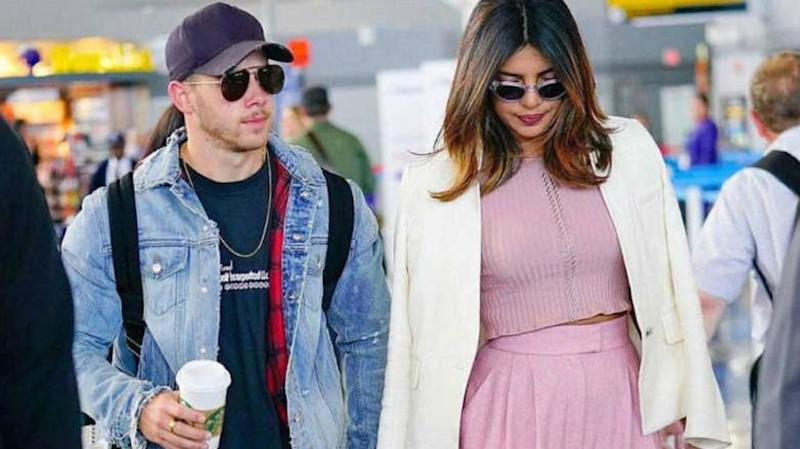 Priyanka Chopra, Nick Jonas arrive in Mumbai