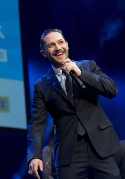 Tom Hardy took the role of Venom partly because his son is a fan of the character (Geoff Pugh/The Daily Telegraph/PA)