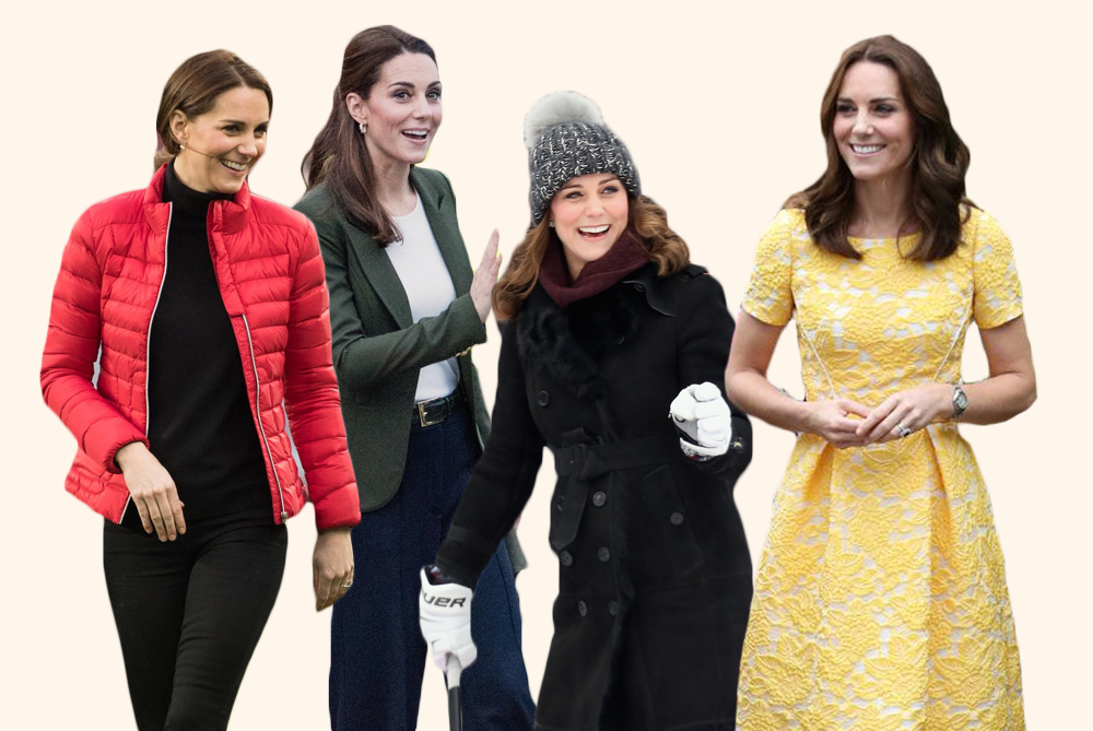 """<p>She's a fashion icon at every event, but the <a href=""""https://www.goodhousekeeping.com/life/entertainment/g3138/kate-middleton-life-in-pictures/"""" target=""""_blank"""">Duchess of Cambridge</a> is often out and about in easy-to-wear outfits that prove sometimes all you need to look put together is a blazer and a comfy pair of wedges. Take a look back at <a href=""""https://www.goodhousekeeping.com/beauty/fashion/g3650/kate-middletons-most-controversial-outfits/"""" target=""""_blank"""">Kate Middleton's most casual looks</a> ever for some timeless style inspo from <a href=""""https://www.goodhousekeeping.com/life/news/a48149/kate-middleton-title-camilla/"""" target=""""_blank"""">a future queen</a>. </p>"""