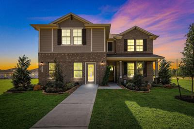 Two-story new home | Woodland Lakes in Huffman, TX | Century Communities