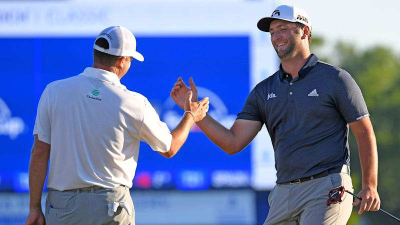 Rahm, Palmer team up to win Zurich Classic by 3 shots