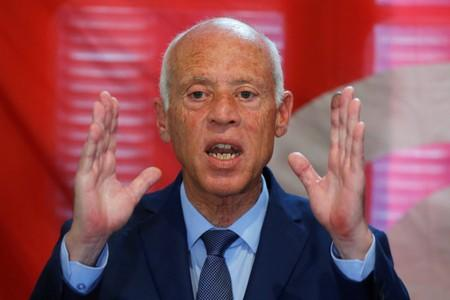In Tunisia, Saied says rival's imprisonment makes him uncomfortable