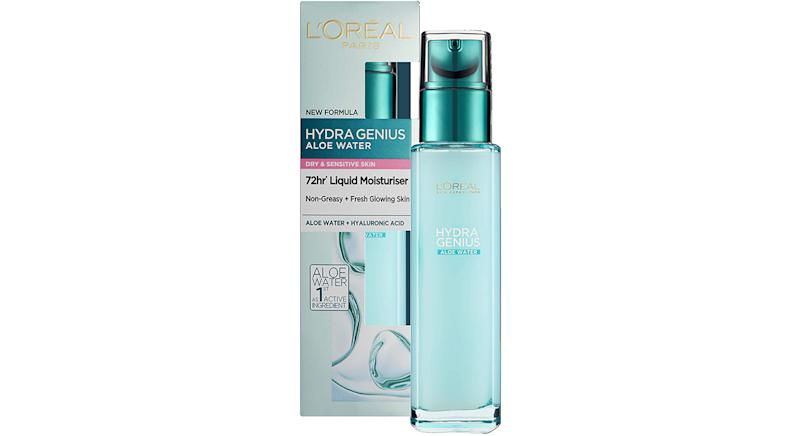 L'Oreal Paris Hydra Genius Hyaluronic Acid + Aloe Liquid Hydrating Moisturiser
