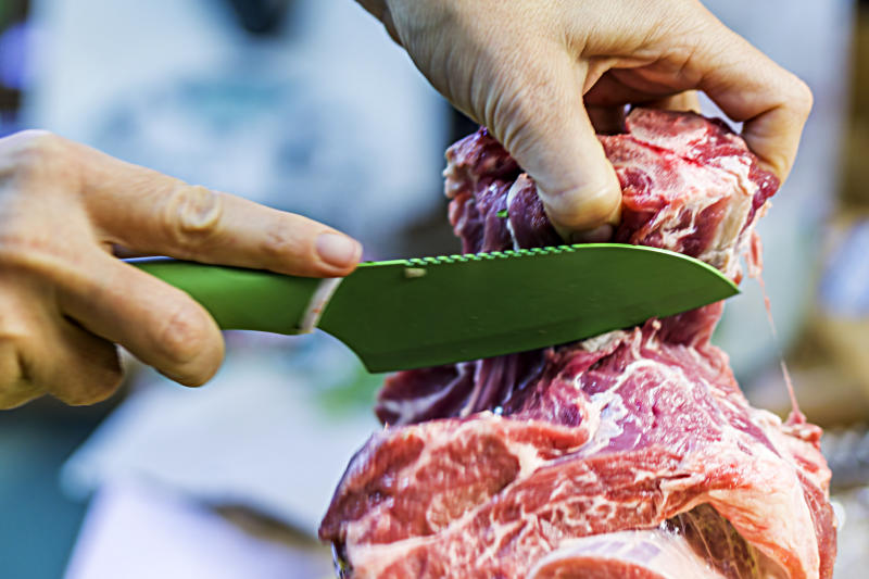 Cut red meat