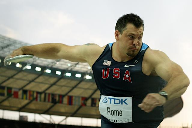 Jarred Rome was a member of Team USA for the 2004 and 2012 Olympics, and won a silver medal at the 2011 Pan American Games. (Mark Dadswell/Getty Images)