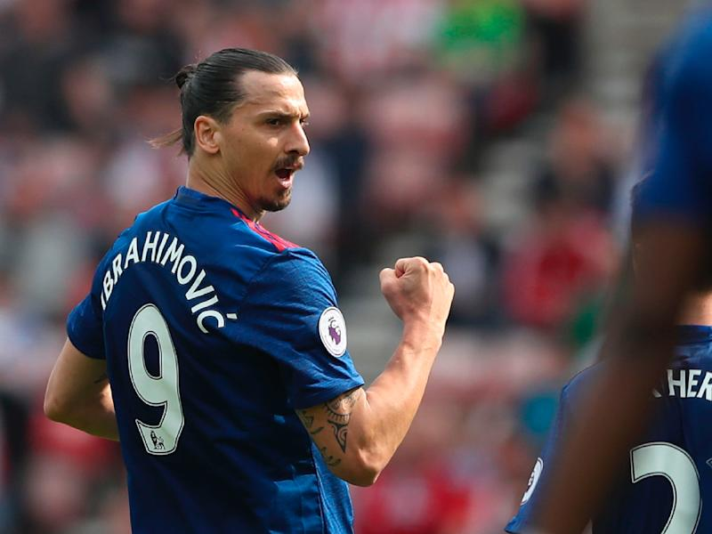 Zlatan Ibrahimovic has enjoyed a successful first season in English football: Getty