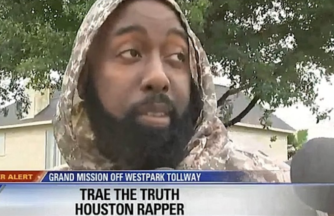 National Basketball Association player rescued from flooding in Houston by rapper Trae Tha Truth