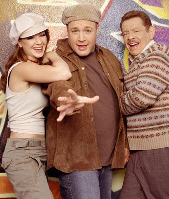 Leah Remini, Kevin James and Jerry Stiller CBS's The King of Queens