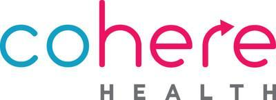 Cohere Health is a software company on a mission to significantly improve the experience of patients, providers and health plans; increase the quality of care delivered; lower total cost of care; and increase transparency across the patient care journey. For more information on Cohere Health, visit https://www.coherehealth.com. (PRNewsfoto/Cohere Health)