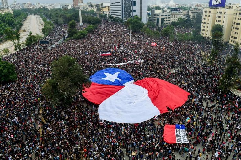 "The Chilean government is in the process of preparing ""a draft amendment of the constitution,"" President Sebastian Pinera has said"