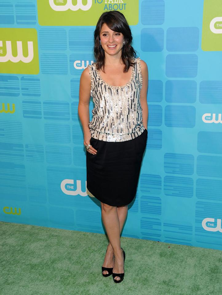 """<a href=""""/shiri-appleby/contributor/38850"""">Shiri Appleby</a> (""""<a href=""""/life-unexpected/show/44830"""">Life Unexpected</a>"""") attends the 2010 The CW Upfront at Madison Square Garden on May 20, 2010 in New York City."""