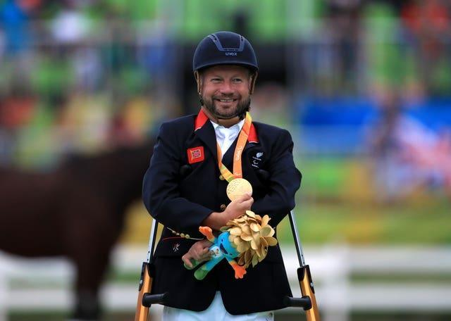 Great Britain's Lee Pearson has 11 Paralympic gold medals