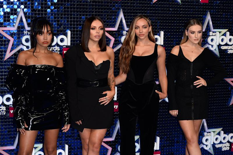Thirlwall, pictured with her bandmates, spoke of the bullying she faced at school (Getty Images)