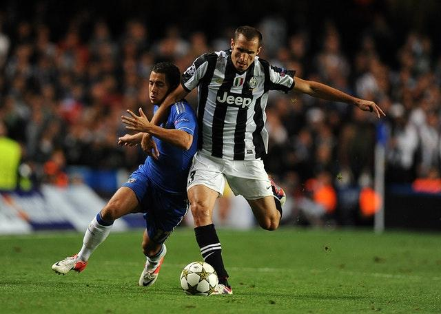 Juventus captain Giorgio Chiellini has spent 15 seasons with the club