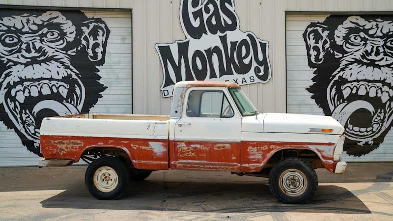 Bid On This 1969 Ford F100 SWB 4x4 Project Truck From Gas
