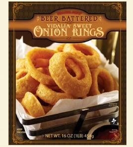 "<p>These huge onion rings, made from Vidalia sweet <a href=""https://www.popsugar.com/food/Should-You-Refrigerate-Onions-43474562"" class=""ga-track"" data-ga-category=""Related"" data-ga-label=""https://www.popsugar.com/food/Should-You-Refrigerate-Onions-43474562"" data-ga-action=""In-Line Links"">onions</a>, are big on size and big on batter - a bit too big. While some might appreciate a little extra coating, these rings tend to come out doughier and soggier than the ideal O-ring, though they do have a solid taste.</p>"