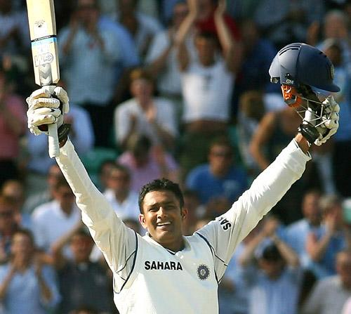 Anil Kumble soaks up the feeling of getting to a hundred