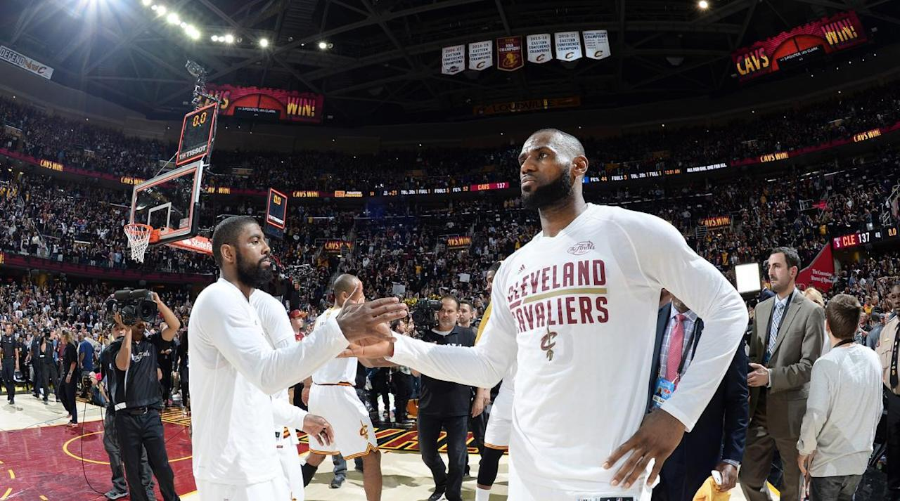 "<p>The <a rel=""nofollow"" href=""https://www.si.com/nba/2017/07/18/kyrie-irving-cleveland-cavaliers-lebron-james-rumors"">Cavaliers' ""peculiar"" off-season</a> continued Friday, as <a rel=""nofollow"" href=""https://ec.yimg.com/ec?url=http%3a%2f%2fwww.espn.com%2fnba%2fstory%2f_%2fid%2f20124505%2fkyrie-irving-seeking-trade-cleveland-cavaliers%26quot%3b%26gt%3bESPN%e2%80%99s&t=1500981350&sig=kFpnp99dvcGA42wuwzmd5w--~C Brian Windhorst reported</a> All-Star guard Kyrie Irving has requested a trade. Irving, 25, is one of the best scoring guards in the league, and has played a key role in Cleveland's three straight trips to the NBA Finals.</p><p>According to the report, Irving is requesting the trade in part to separate himself from LeBron James. Irving reportedly wants to be on a team that can make him the focal point on offense. Irving has two years and an option left on his contract, and it's worth noting a potential trade would eliminate his option of signing a ""supermax"" extension down the road.</p><p>The Irving news is shocking. Kyrie eloquently sang LeBron's praises after the Cavs' Finals loss in June, and he's seemingly relished the big game opportunities he's been afforded in Cleveland. But when considering the mess in the Cavs' front office, and James's own uncertain future in Cleveland, the trade demand makes a little more sense.</p><p>Why should Irving commit to Cleveland when James himself won't? Tying yourself to LeBron also means tying yourself to someone who wants to maximize his leverage and always have an escape plan ready at all times. Irving's trade demand could be as much about on-court fit as it is about LeBron's unparalleled control over the organization. Suppose James were to leave next summer—and right now he doesn't have many reasons to stay—Irving would be left on a team devoid of assets and tied up in salary cap knots.</p><p>On one hand, detaching yourself from LeBron and forgoing a guaranteed trip to the Finals every year sounds incredibly short-sighted. But Irving has already tasted the glory of winning a championship, and playing in a more stable situation could be more appealing to him than attaching himself to LeBron's long-term desires.</p><p>There are going to be narratives <a rel=""nofollow"" href=""https://twitter.com/ThompsonScribe/status/888496437771685888"">about Kyrie wanting to be ""the man""</a> and how he cares more about personal glory than championships. I think the situation is a little bit more nuanced than that. LeBron has basically held Cleveland hostage by signing only short-term deals in his homecoming, and Irving, a star in his own right, shouldn't necessarily let his career hinge on one player's decisions.</p><p>And if Kyrie is really serious about wanting to join a team where he can play a different role, well, he's not alone. Superteams like the Warriors and LeBron's Heat are anomalies, not the rule. It may sound crazy, but is Irving really acting all that differently than Kevin Durant? He wants to leave one star for a situation that will make him happier in the long run. Playing alongside LeBron sounds like the best situation in the NBA, but for Irving it also means making huge sacrifices during the physical prime of his career.</p><p></p><p>One thing is for certain: The Cavaliers are, somehow, simultaneously the most dysfunctional team and the Finals favorite in their conference. They are reportedly hiring Koby Altman to be their general manager after letting David Griffin go right before the off-season. They have bad contracts up and down the roster. Kevin Love consistently pops up in trade rumors. And they've given LeBron no reasons to stick around after a not-quite-close loss to the Warriors in the Finals. Having James has masked a lot of issues for the Cavs the last three seasons, but he can only do so much for an organization that lacks tact starting at the top.</p><p>There is no guarantee Irving gets dealt, though it's hard to imagine him sticking around with the disconnect between him and LeBron going public. It's even harder to imagine the Cavs' front office—whatever that even means at this point—not botching the situation in some way. And if those of us on the outside have no faith in Cleveland or have been photoshopping LeBron in a Lakers jersey for weeks, maybe Irving is just ahead of the curve.</p>"