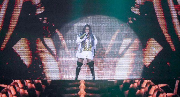A-Mei performs in Singapore (Photo: Yahoo Lifestyle Singapore)