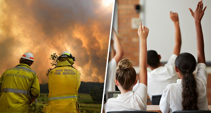 About 140 schools will remain closed on Wednesday as bushfires continue to rage across the state. Source: AAP/ Getty, file.
