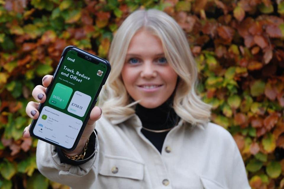 <p>Tred's sustainable debit card tracks your carbon emissions</p> (Tred)