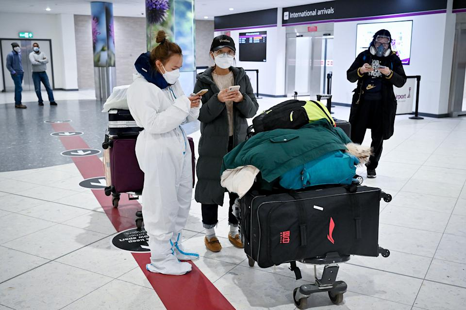 <p>Travel from the UK to the US has been banned for most non-American citizens since March last year</p> (Getty Images)
