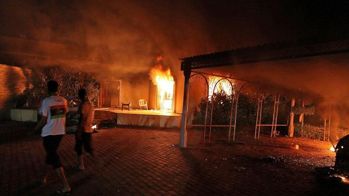 CLICK IMAGE for slideshow: The deadly Sept. 11, 2012 attack on the consulate in Benghazi killed U.S. Ambassador Chris Stevens and three other Americans. (ABC News)