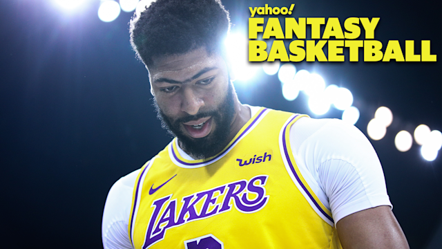 SHENZHEN, CHINA - OCTOBER 12: Anthony Davis #3 of the Los Angeles Lakers looks on during the match against the Brooklyn Nets during a preseason game as part of 2019 NBA Global Games China at Shenzhen Universiade Center on October 12, 2019 in Shenzhen, Guangdong, China. (Photo by Zhong Zhi/Getty Images)