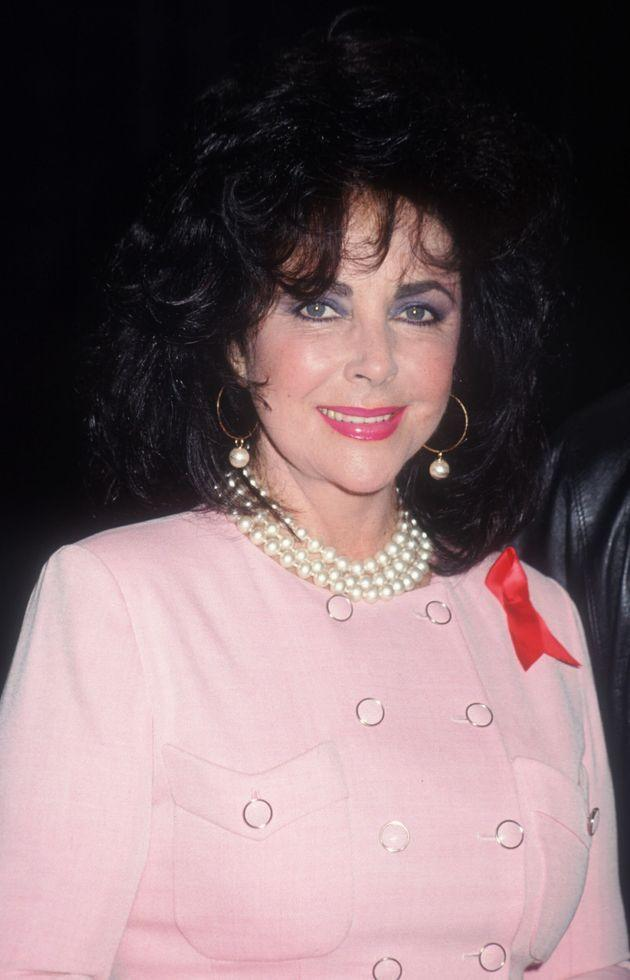 Elizabeth Taylor pictured in 1992 (Photo: Barry King via Getty Images)