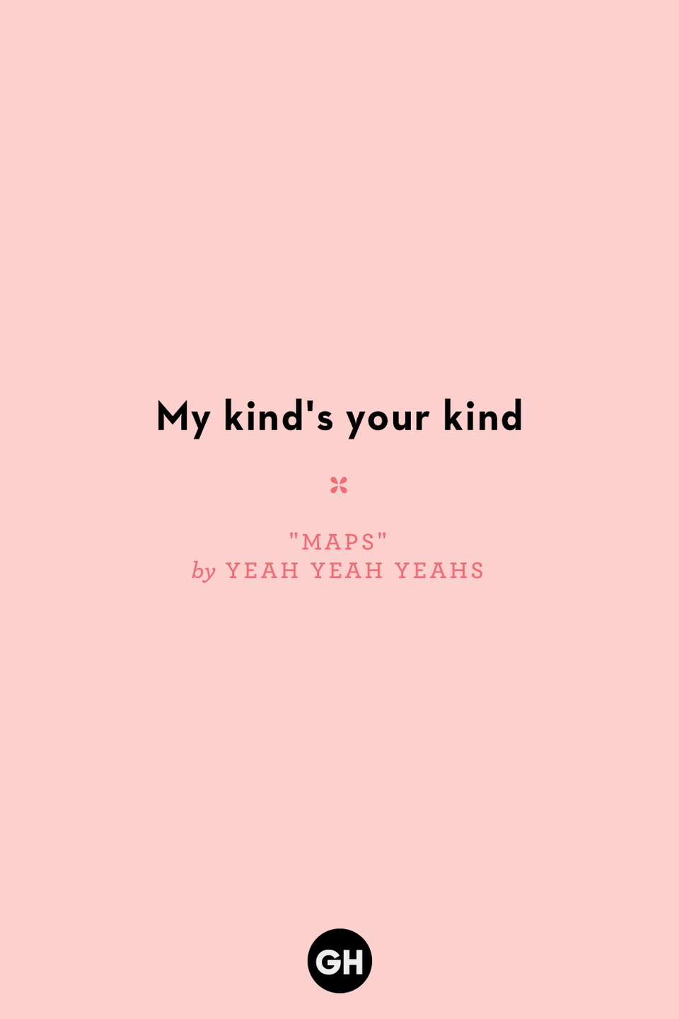 <p>My kind's your kind</p>