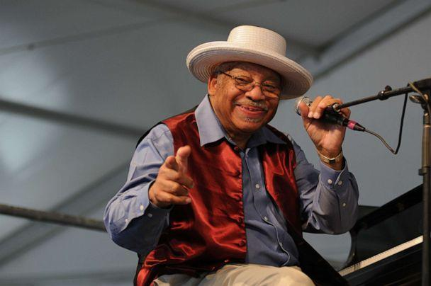 PHOTO: Ellis Marsalis performs on stage during the final day of New Orleans Jazz And Heritage Festival on May 8, 2011 in New Orleans, United States. (Leon Morris/Redferns/Getty Images)