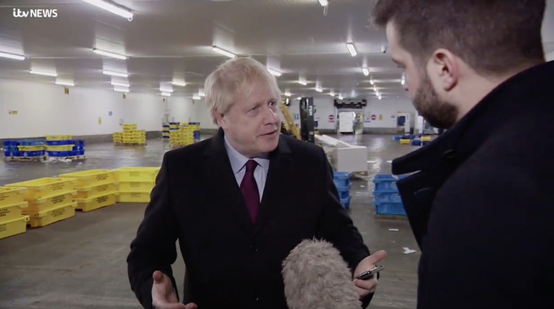 UK PM Johnson pockets reporter's phone in hospital row