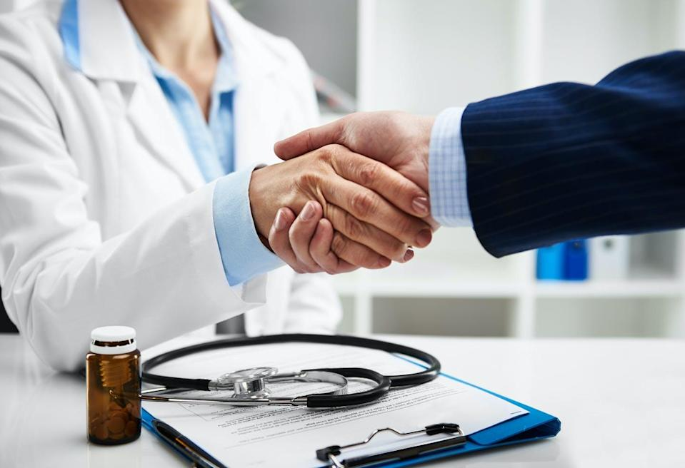 """<span class=""""caption"""">Over 90 per cent of Canadian doctors see pharmaceutical sales representatives.</span> <span class=""""attribution""""><span class=""""source"""">(Shutterstock)</span></span>"""