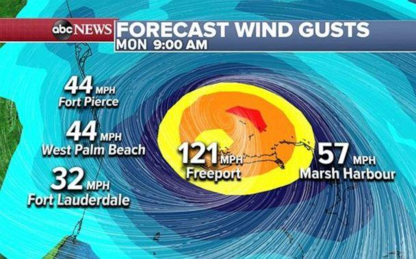 PHOTO: Wind gusts are expected to hit the triple digits as the storm makes its way west. (ABC News)