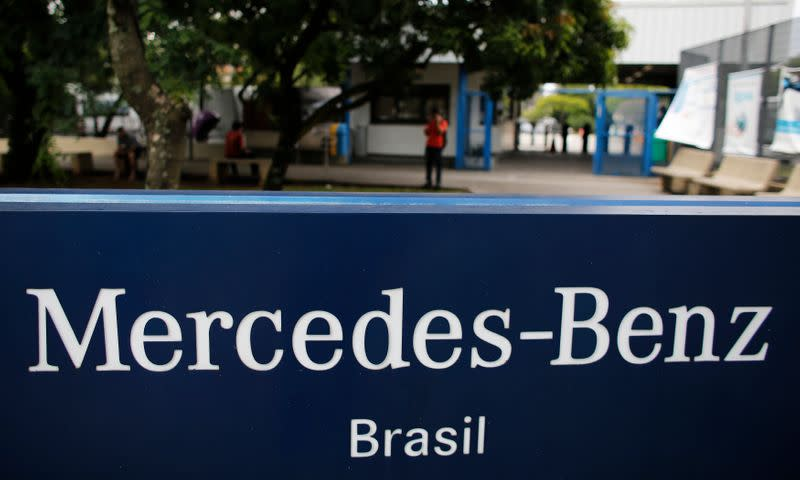 Mercedes Benz to resume second shift in Brazilian factory as sales slowly recover